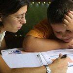 tareas escolares control registro exceso